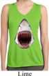 Ladies Shirt 3D Shark Sleeveless Moisture Wicking Tee T-Shirt