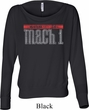 Ladies Shirt 50 Years Mach 1 Off Shoulder Tee T-Shirt