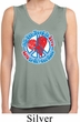 Ladies Shirt All You Need is Love Sleeveless Moisture Wicking Tee