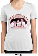 Ladies Shirt Attorneys at Law Moisture Wicking V-neck Tee T-Shirt