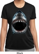 Ladies Shirt Big Shark Face Moisture Wicking Tee T-Shirt
