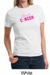 Ladies Shirt Breast Cancer Awareness Beat Cancer Tee T-Shirt