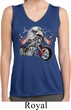 Ladies Shirt Eagle Biker Sleeveless Moisture Wicking Tee