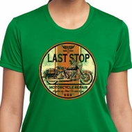 Ladies Shirt Last Stop Moisture Wicking Tee T-Shirt