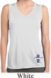 Ladies Shirt Legend Lives Crest Bottom Print Sleeveless Moisture Tee