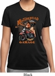 Ladies Shirt Motorhead Garage Moisture Wicking Tee T-Shirt
