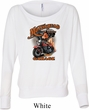 Ladies Shirt Motorhead Garage Off Shoulder Tee T-Shirt