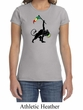 Ladies Shirt Rasta Triangle Crewneck Tee T-Shirt