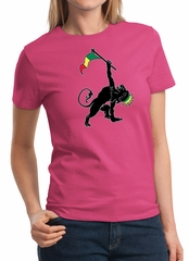 Ladies Shirt Rasta Triangle Tee T-Shirt