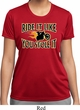 Ladies Shirt Ride It Like You Stole It Moisture Wicking Tee T-Shirt