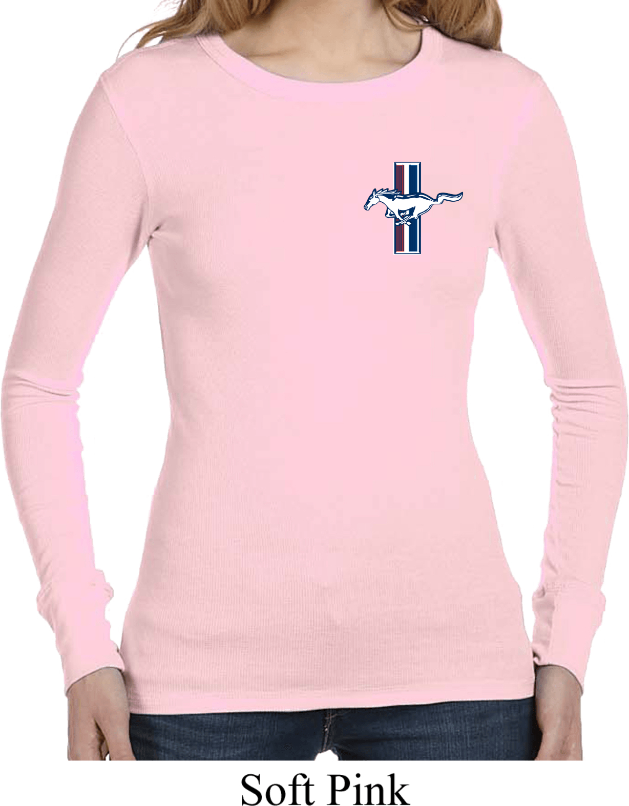 Ladies Shirt The Legend Lives Crest Long Sleeve Thermal