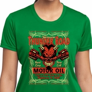 Ladies Shirt Thunder Road Moisture Wicking Tee T-Shirt