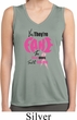 Ladies Shirt Yes, They're Fake Sleeveless Moisture Wicking Tee