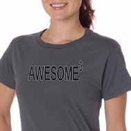 Ladies Shirts Awesome Cubed Organic Tee T-Shirt