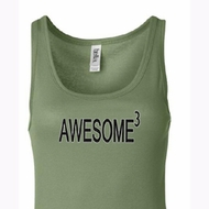 Ladies Tanktop Awesome Cubed Longer Length Tank Top