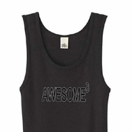 Ladies Tanktop Awesome Cubed Organic Tank Top