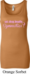 Ladies Tanktop Eat Sleep Breathe Gymnastics Longer Length Tank Top