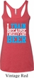 Ladies Tanktop I Train For Beer Tri Blend Racerback Tank Top