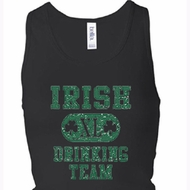 Ladies Tanktop Irish Drinking Team Longer Length Racerback Tank Top