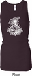 Ladies Tanktop Krishna Longer Length Racerback Tank Top