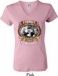 Ladies Three Stooges Shirt Moonshine Whiskey V-neck Tee T-Shirt