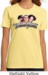 Ladies Three Stooges Shirt Stooges Faces Organic Tee T-Shirt