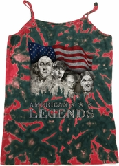 Ladies Three Stooges Tanktop Rushmorons Tie Dye Camisole Tank