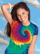 Ladies Tie Dye T-shirts