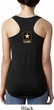 Ladies US Army Back Print Ideal Racerback