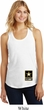 Ladies US Army Bottom Print Racerback Tank Top