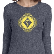 Ladies Yoga Diamond Manipura Long Sleeve