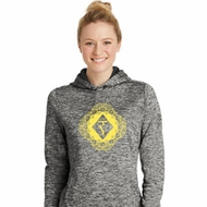 Ladies Yoga Diamond Manipura Moisture Wicking Hoodie