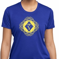 Ladies Yoga Diamond Manipura Moisture Wicking T-shirt