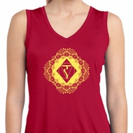 Ladies Yoga Diamond Manipura Moisture Wicking Tank Top