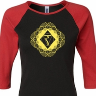 Ladies Yoga Diamond Manipura Raglan Shirt