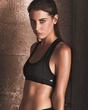Ladies Yoga Fitness Sports Bra - Nylon Spandex Blend