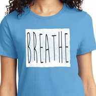 Ladies Yoga Shirt Breathe Tee T-Shirt