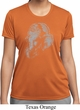Ladies Yoga Shirt Ganesha Profile Moisture Wicking Tee T-Shirt