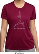 Ladies Yoga Shirt Line Warrior Moisture Wicking Tee T-Shirt