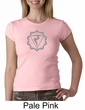 Ladies Yoga Shirt Manipura Chakra Meditation Crewneck Shirt