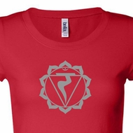 Ladies Yoga Shirt Manipura Chakra Meditation Longer Length Shirt