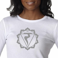 Ladies Yoga Shirt Manipura Chakra Meditation Thermal Shirt