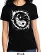 Ladies Yoga Shirt Yin Yang Sun Tee T-Shirt