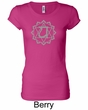Ladies Yoga T-shirt – Anahata Heart Chakra Longer Length Shirt