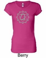Ladies Yoga T-shirt � Anahata Heart Chakra Longer Length Shirt