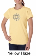 Ladies Yoga T-shirt � Anahata Heart Chakra Organic Tee Shirt