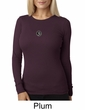 Ladies Yoga T-shirt – Aum Patch Meditation Thermal Shirt