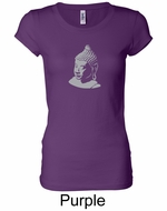 Ladies Yoga T-shirt � Buddha Big Print Longer Length Shirt