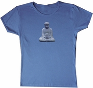 Ladies Yoga T-shirt  - Buddha Buddhist Meditation Tee Shirt