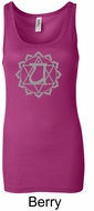 Ladies Yoga Tank � Anahata Heart Chakra Longer Length Tanktop
